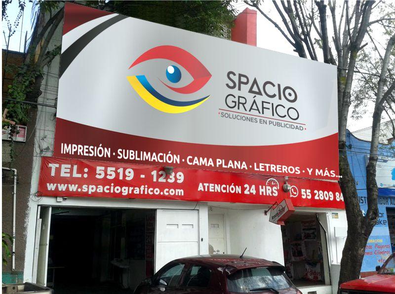 Spacio Gráfico sucursal Bernardo Couto