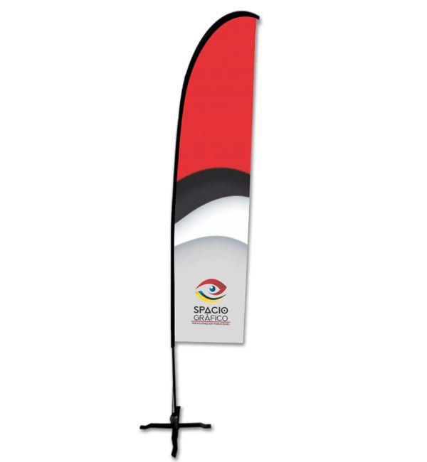 Display tipo bandera