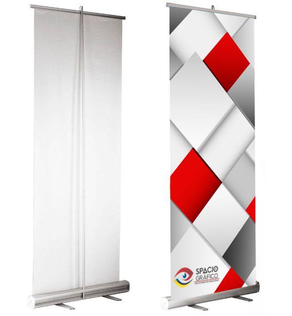 Display roll up banner Spacio Gráfico
