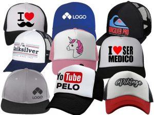 Impresión en serigrafía en gorras o cachucas