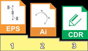 formatos de archivos para corte de vinil